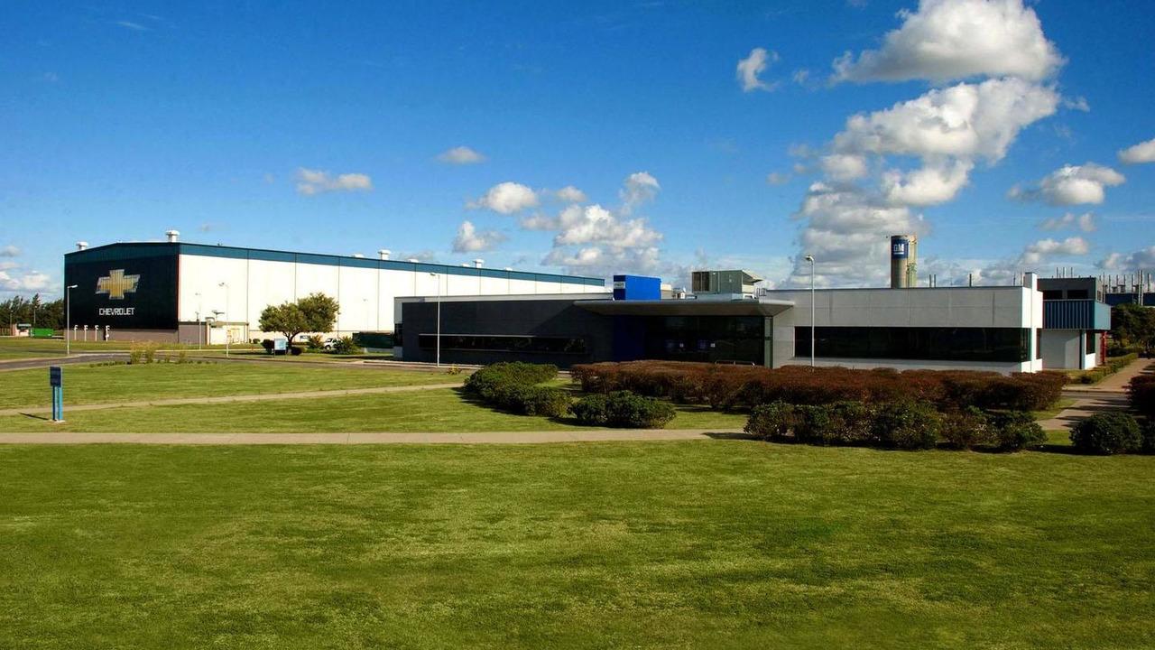 GM Rosario Automotive Complex in Argentina 29.10.2012
