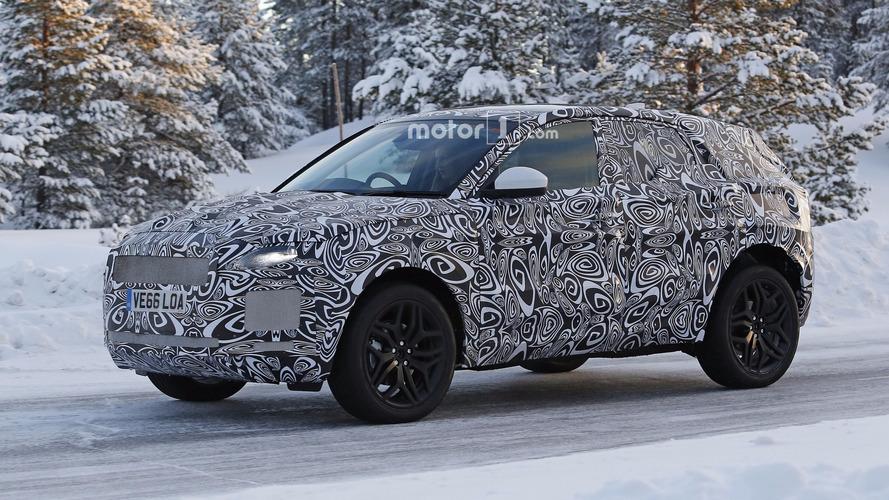 Jaguar E-Pace spotted hiding familiar design