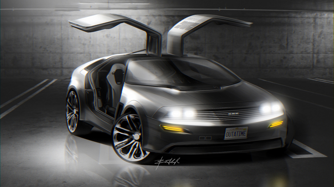 DeLorean DMC21 Concept