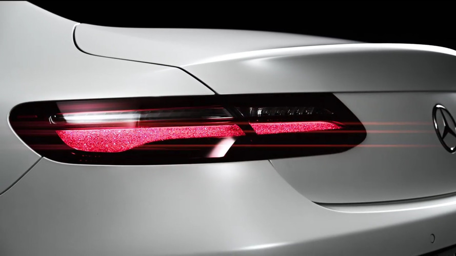 2018 Mercedes E-Class Coupe teased ahead of Wednesday reveal