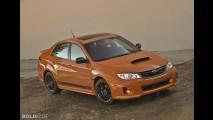 Subaru Impreza WRX Orange and Black