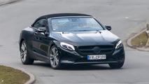 2016 Mercedes-Benz S-Class Cabriolet spy photo