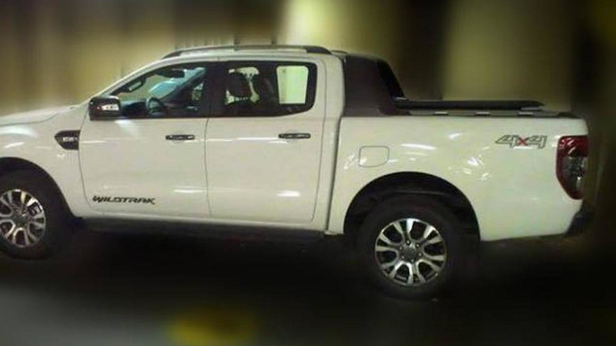 2015 Ford Ranger spied inside and out camo free