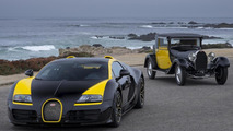 Bugatti Grand Sport Vitesse '1 of 1' showcased at Pebble Beach
