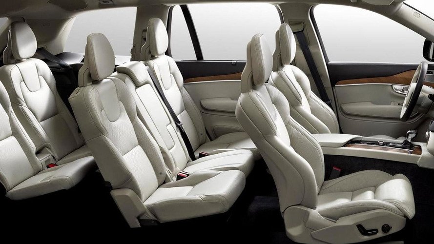 2015 Volvo XC90 interior cabin officially revealed