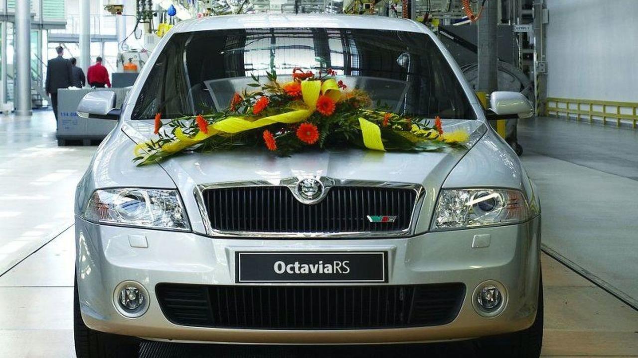 500,000th Skoda Octavia