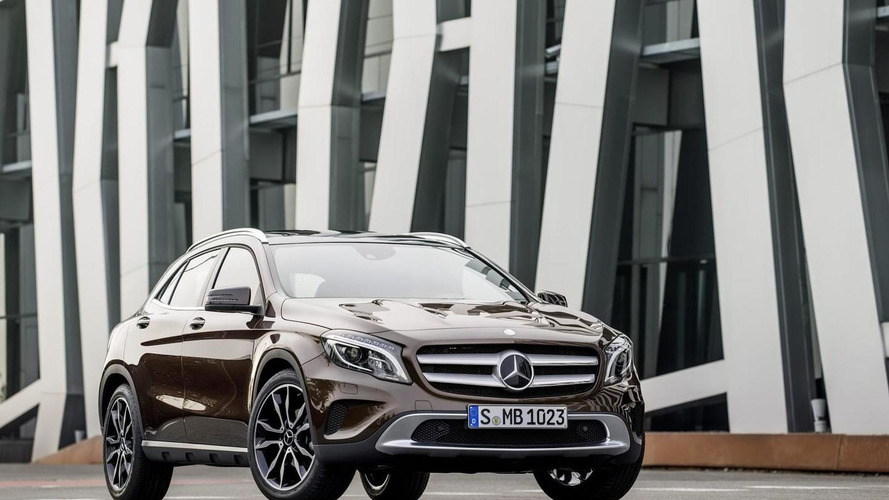 Mercedes A, CLA & GLA gain new engines & 4MATIC variants