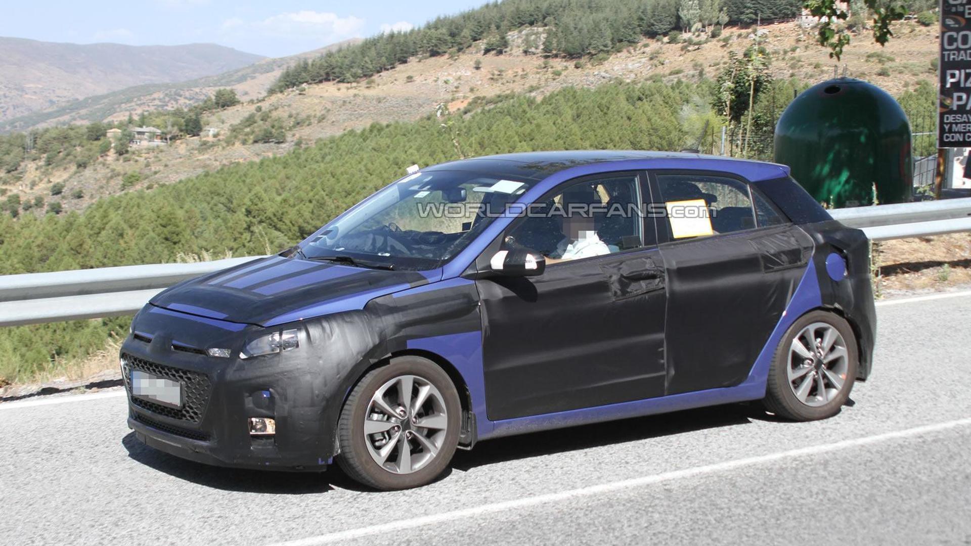 Next-gen Hyundai i20 spied in southern Europe