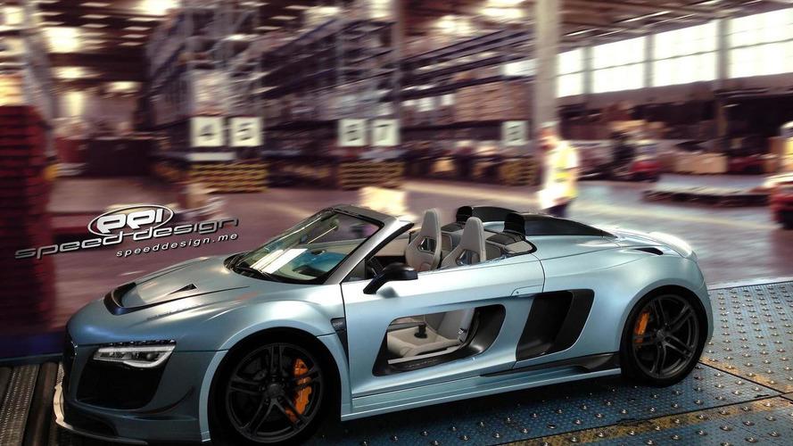 Audi R8 V10 Spyder-based PPI Razor Spyder GTR revealed