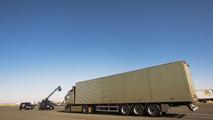 Jean Claude Van Damme reay to perform Epic Split with Volvo trucks