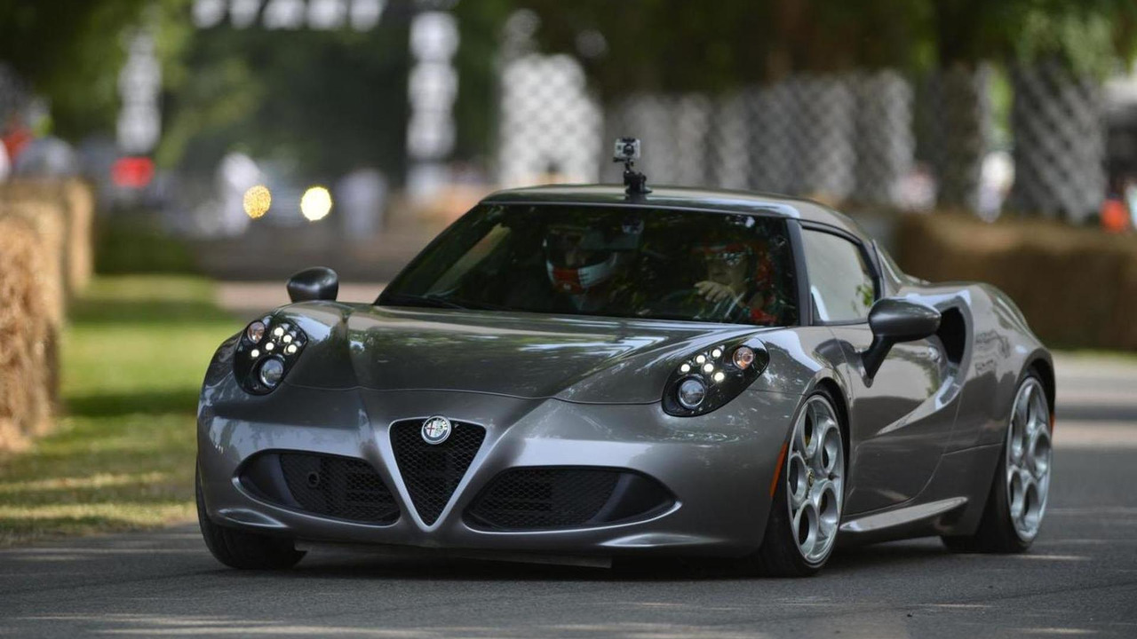 Alfa Romeo 4C live at 2013 Goodwood Festival of Speed