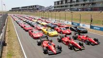 140 Ferraris at Hampton Down MotorSport Park for New Zealand Festival of Motor Racing