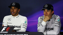 No end in sight for Mercedes duo 'star wars'