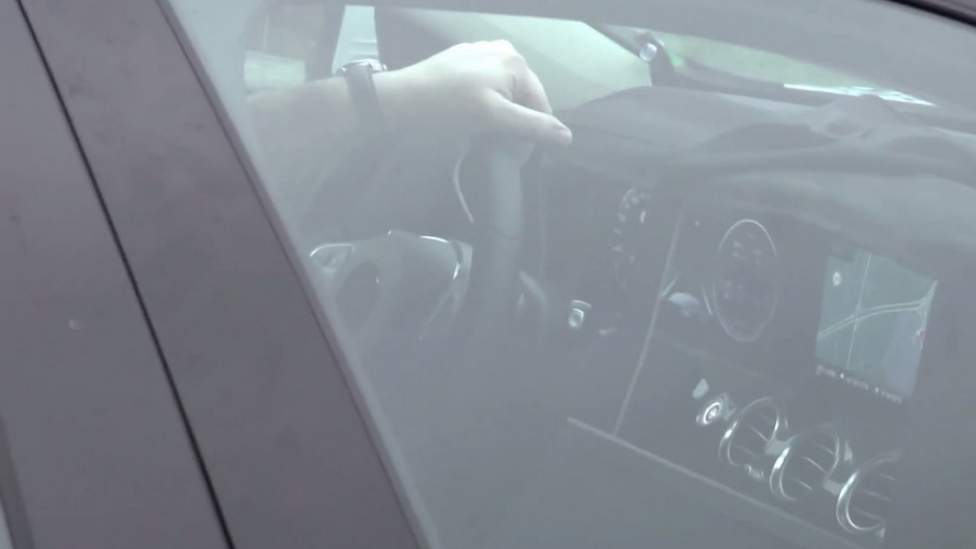 2016 Mercedes-Benz E-Class shows its S-Class-derived dashboard in latest spy video
