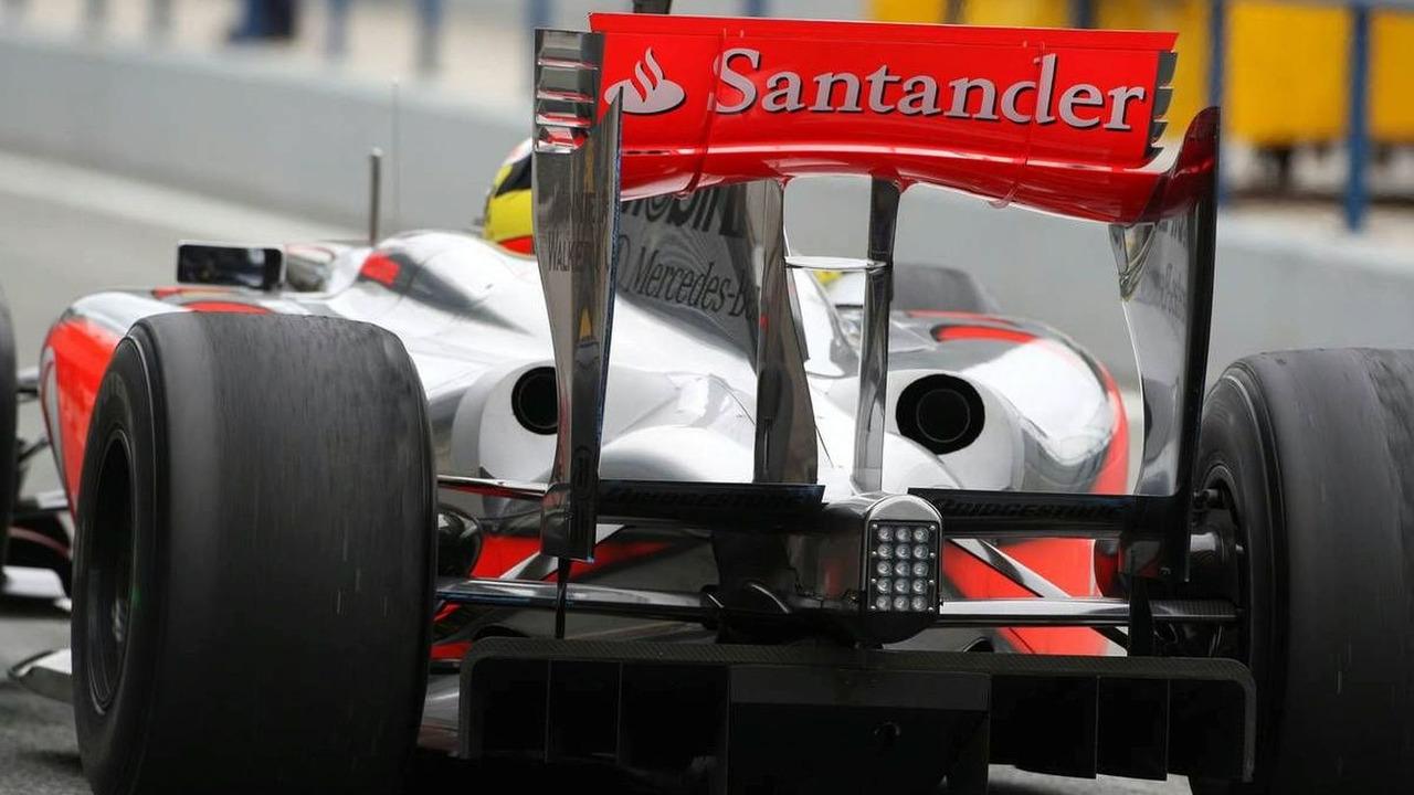 Pedro de la Rosa (ESP), Test Driver, McLaren Mercedes, MP4-24, Jerez, Spain, 01.03.2009