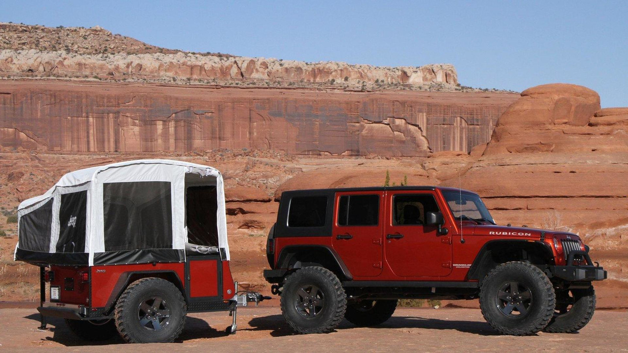 Jeep Extreme Trail Edition camper 21.07.2010