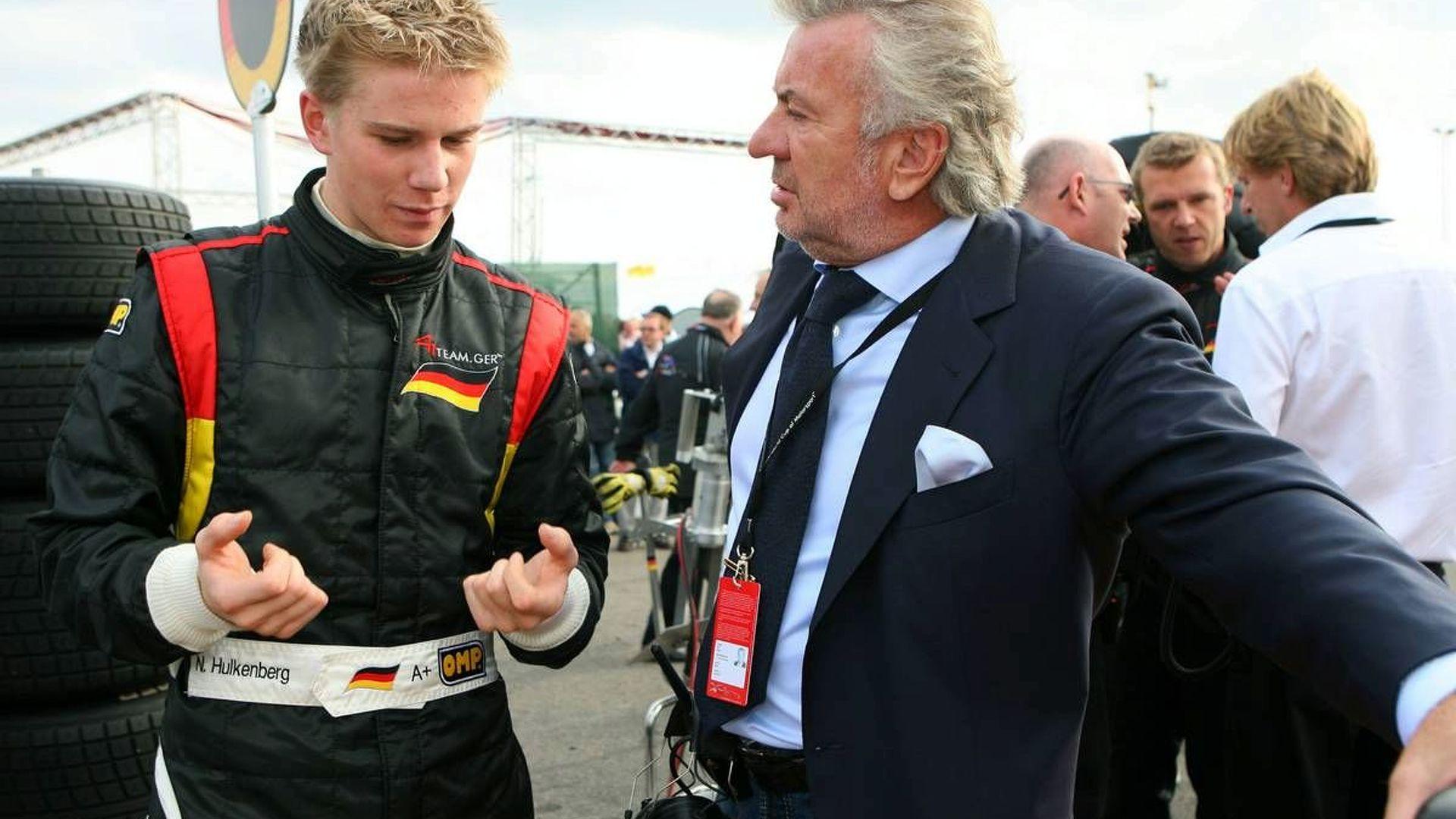 Hulkenberg admits Ferrari talks in 2009