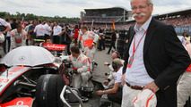 Mercedes' Zetsche goes to Abu Dhabi for F1 talks