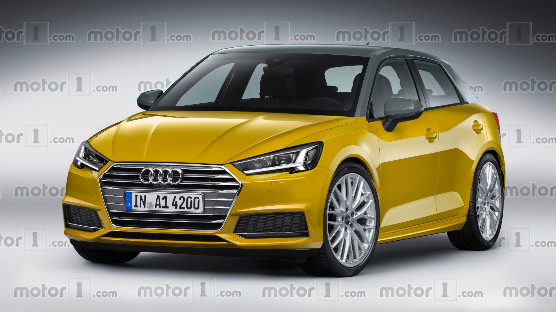 new audi a1 speculatively rendered. Black Bedroom Furniture Sets. Home Design Ideas