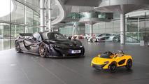 McLaren P1 ride on
