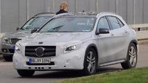 Mercedes-Benz GLA-Class refresh spy shots