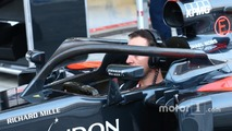 Alonso, Hamilton set for Halo tests