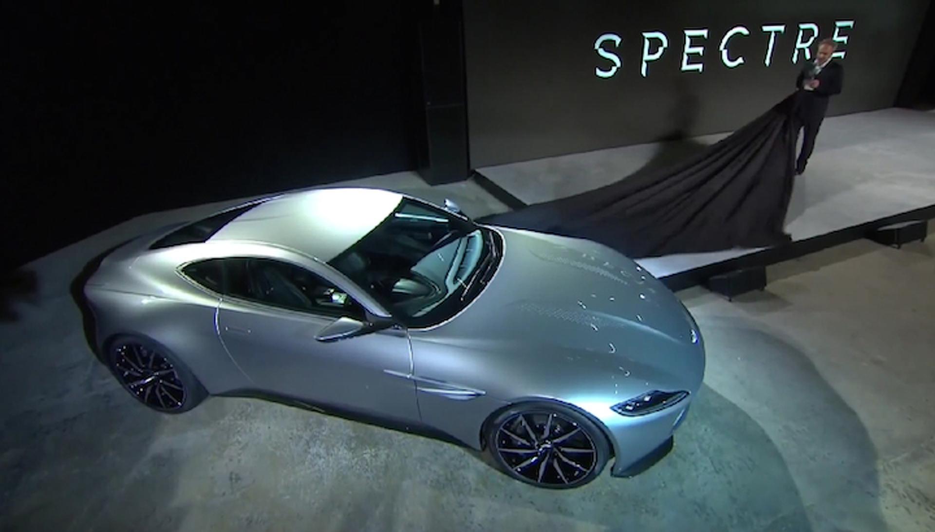 James Bond Gets a Sleek New Aston Martin for 'Spectre'