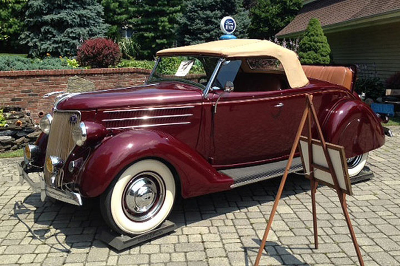 WWII Vet Selling Off His Rare Ford Collection