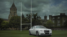 Rolls-Royce introduces Wraith - History of Rugby in time for world cup