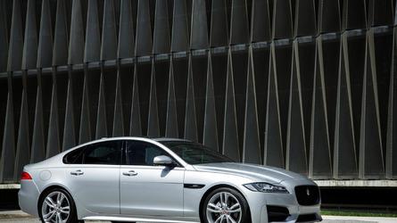 Jaguar XF starts at 32,300 GBP in the UK