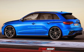 Audi RS3 Sportback Concepts Are Perfection in Blue