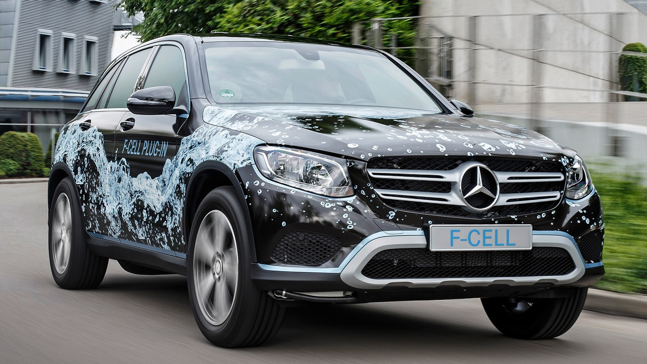 Mercedes glc f cell plug in hydrogen prototype revealed for Mercedes benz f cell price