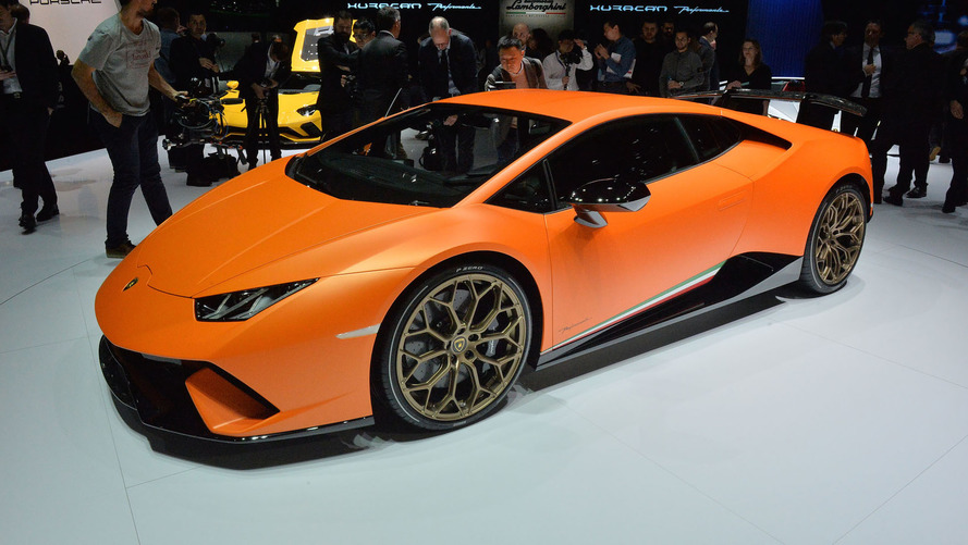 Lamborghini Huracan Performante has the brand's most powerful V10 ever