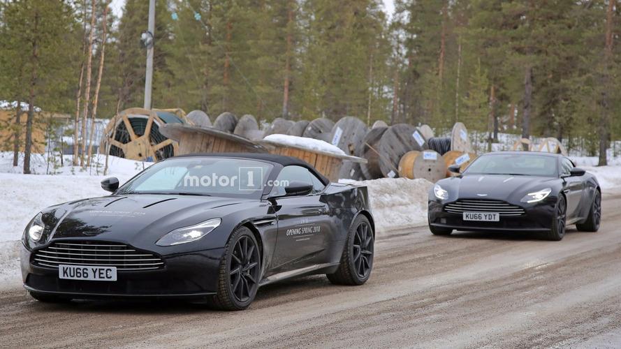Aston Martin DB11 Volante photos espion