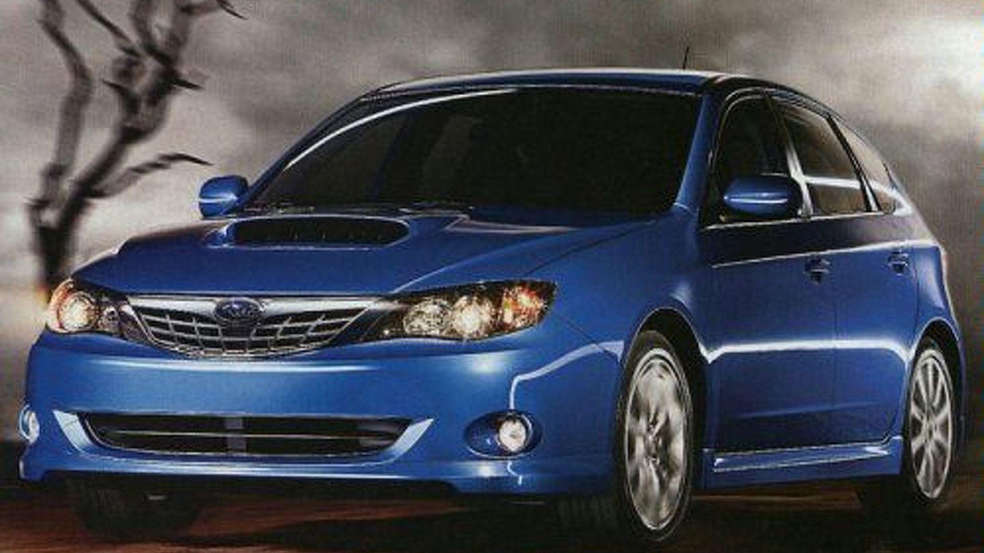 New York Auto Show: Subaru Impreza WRX