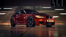 BMW 1-Series receives wide body kit from Prior Design