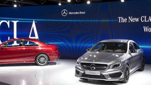 2014 Mercedes CLA live in Detroit 13.1.2013