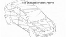 2014 Maserati Levante patent drawing