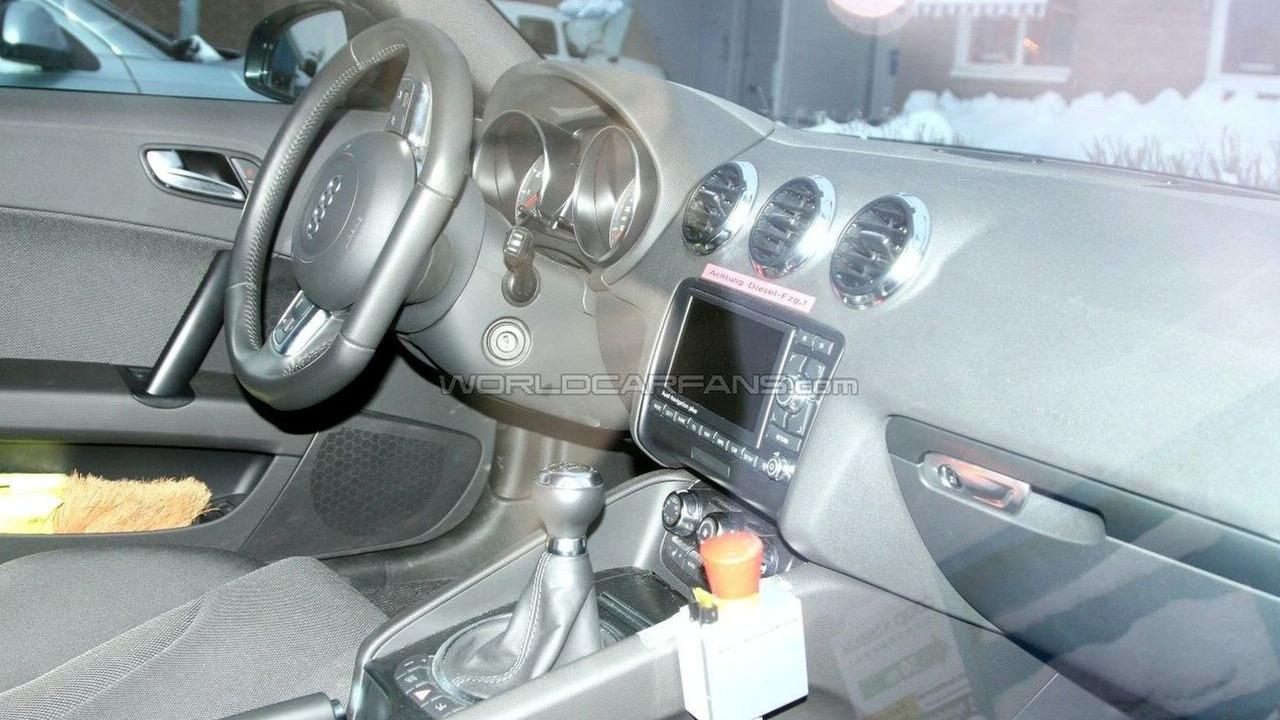 Audi TT TDi Spied
