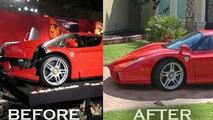 Ferrari Enzo Crashed by Eddie Griffin has been Rebuilt