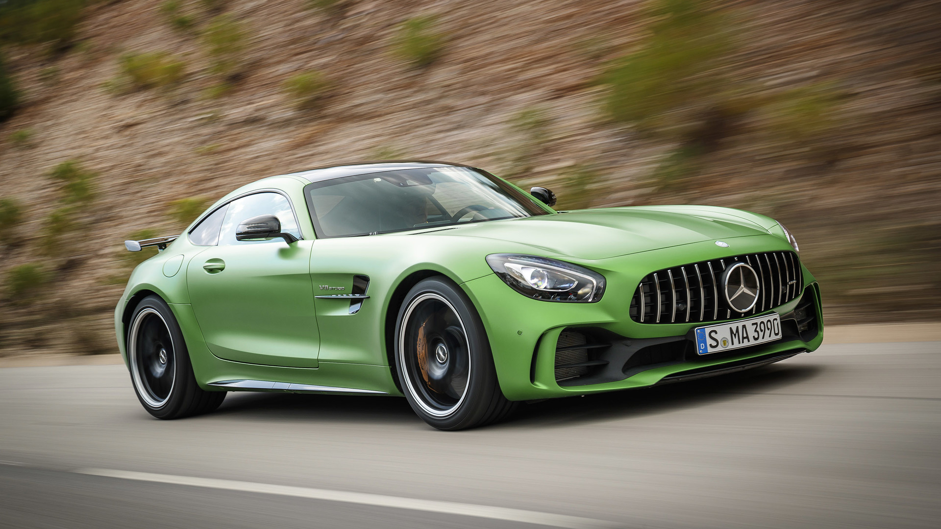 2018 Mercedes Amg Gt R First Drive The Green Monster Of