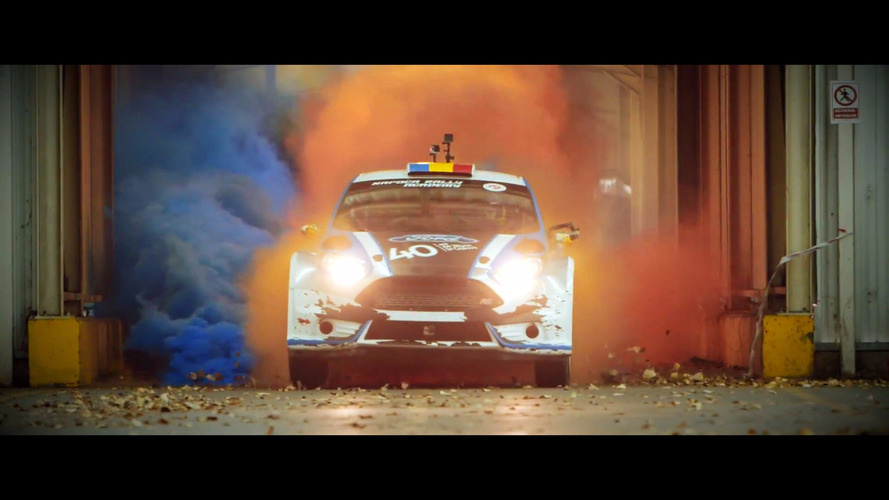 Ford of Romania marks its birthday with a Gymkhana film
