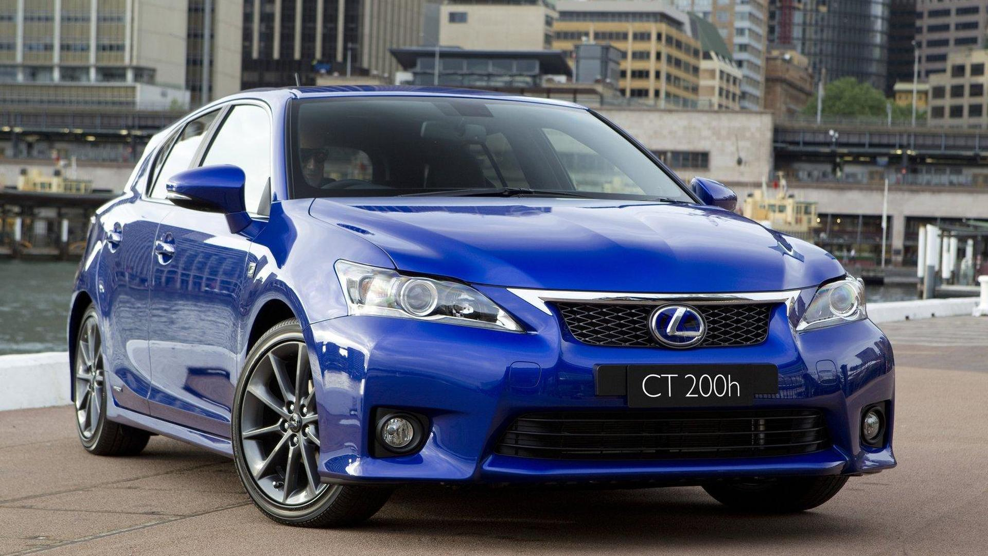 Lexus working on a high-performance CT200h - report