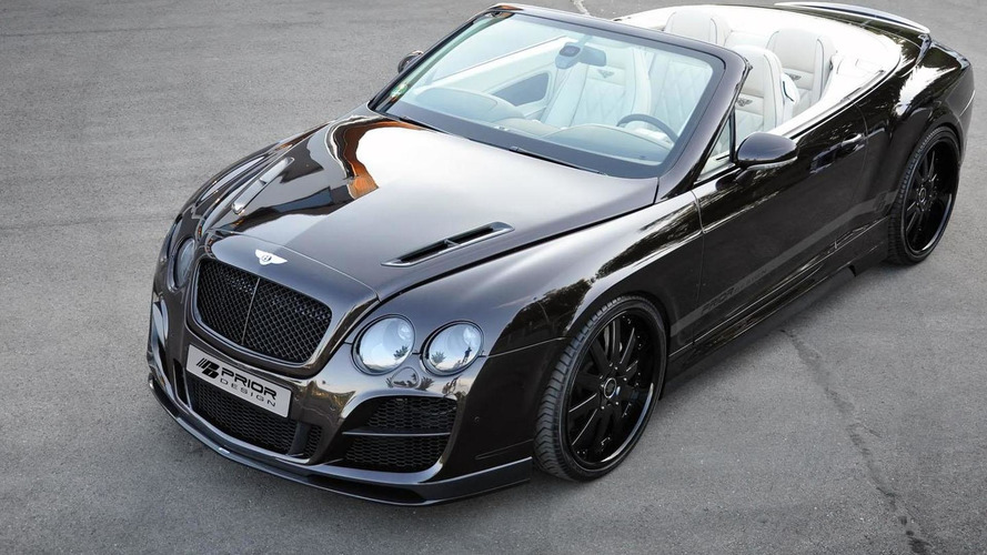 Prior Design Bentley Continental GTC revealed