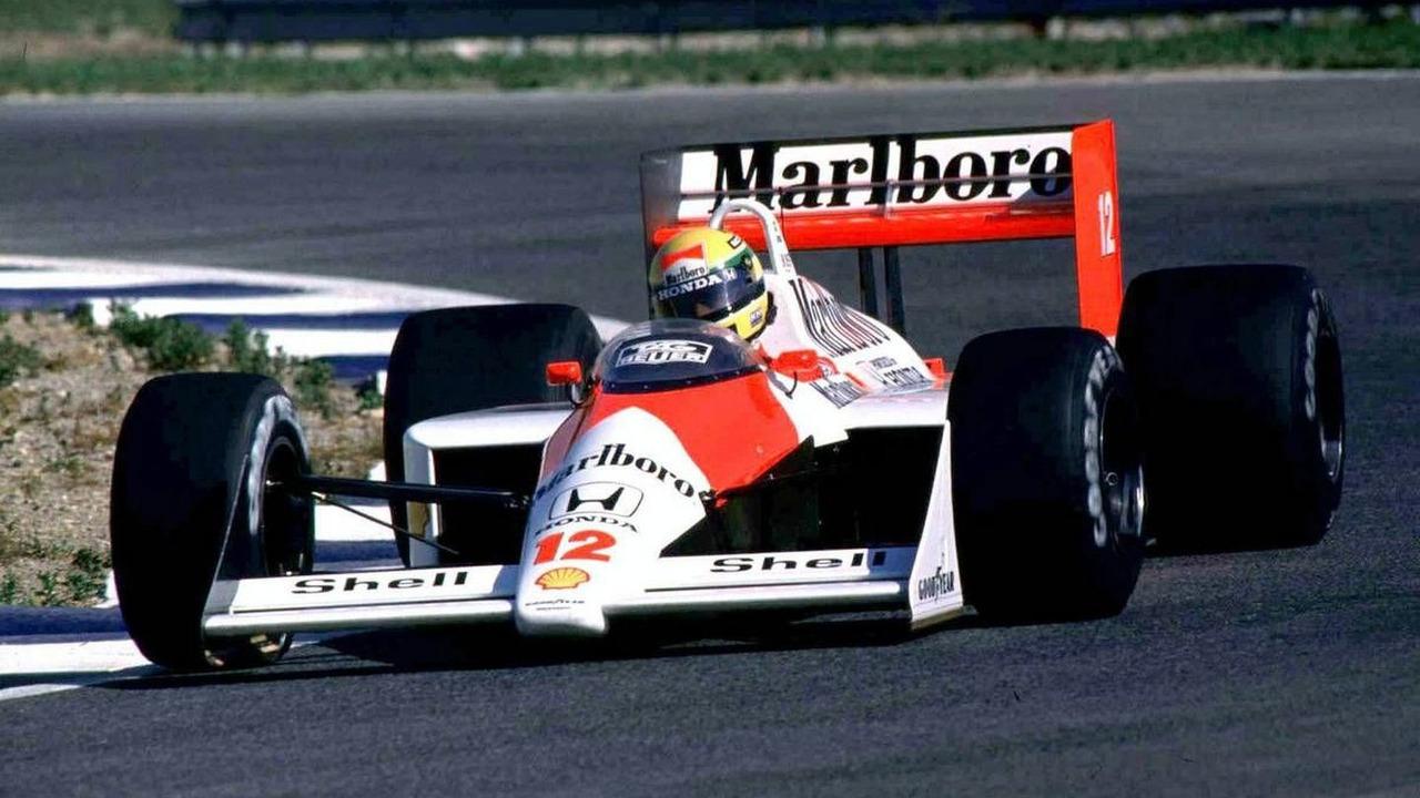Ayrton Senna (BRA), Mclaren Honda, MP4/4, 1988