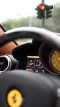 Ferrari California with the HELE system