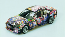 Sandro Chia (I) 1992 BMW 3-Series Racing Touring Car Prototype miniature art car - 1600