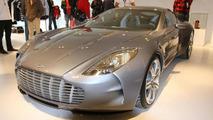 Aston Martin One-77 at Nurburgring store