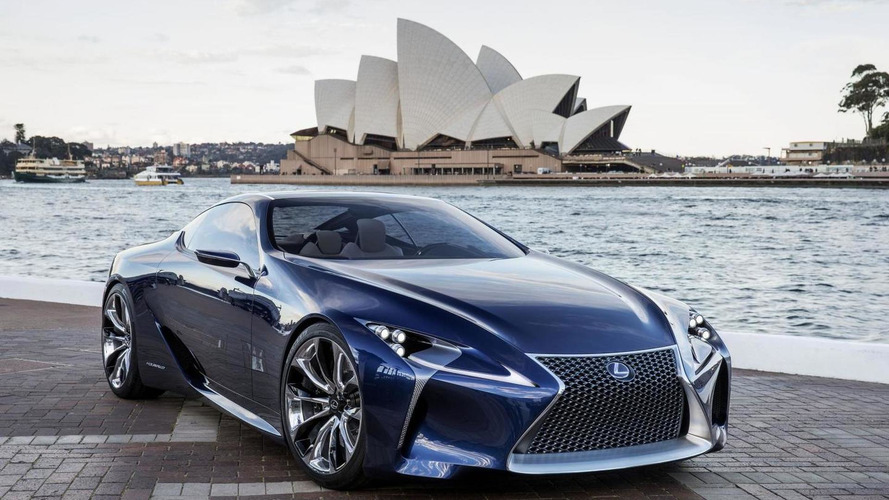 Lexus LFA successor based on LF-LC concept planned