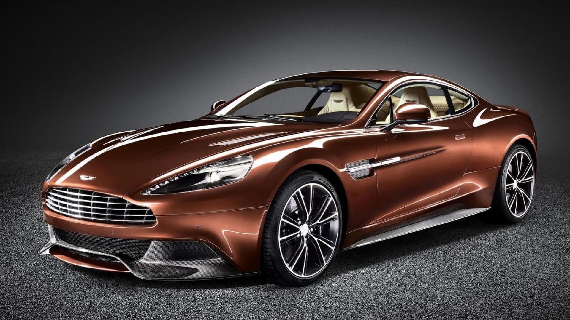Aston Martin Vanquish hits the street [video]